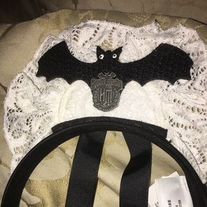 Disney Haunted Mansion Doily Ghost Host Maid Ears